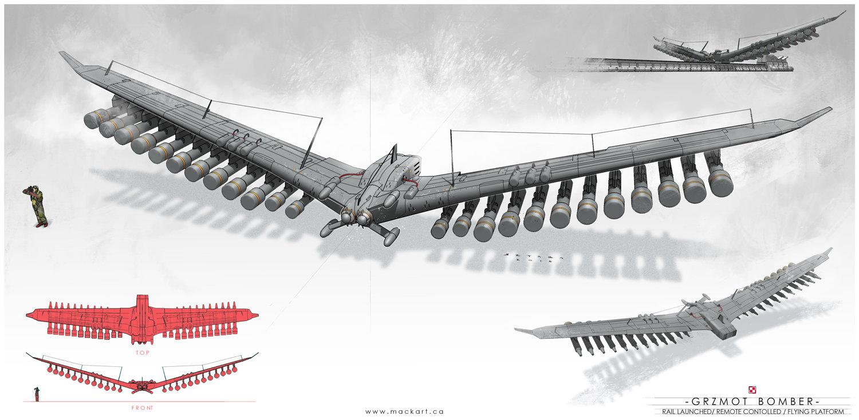Grzmot (Thunder) Bomber