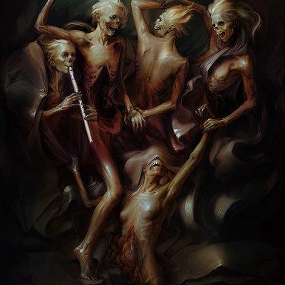 Apterus graphics danse macabre w