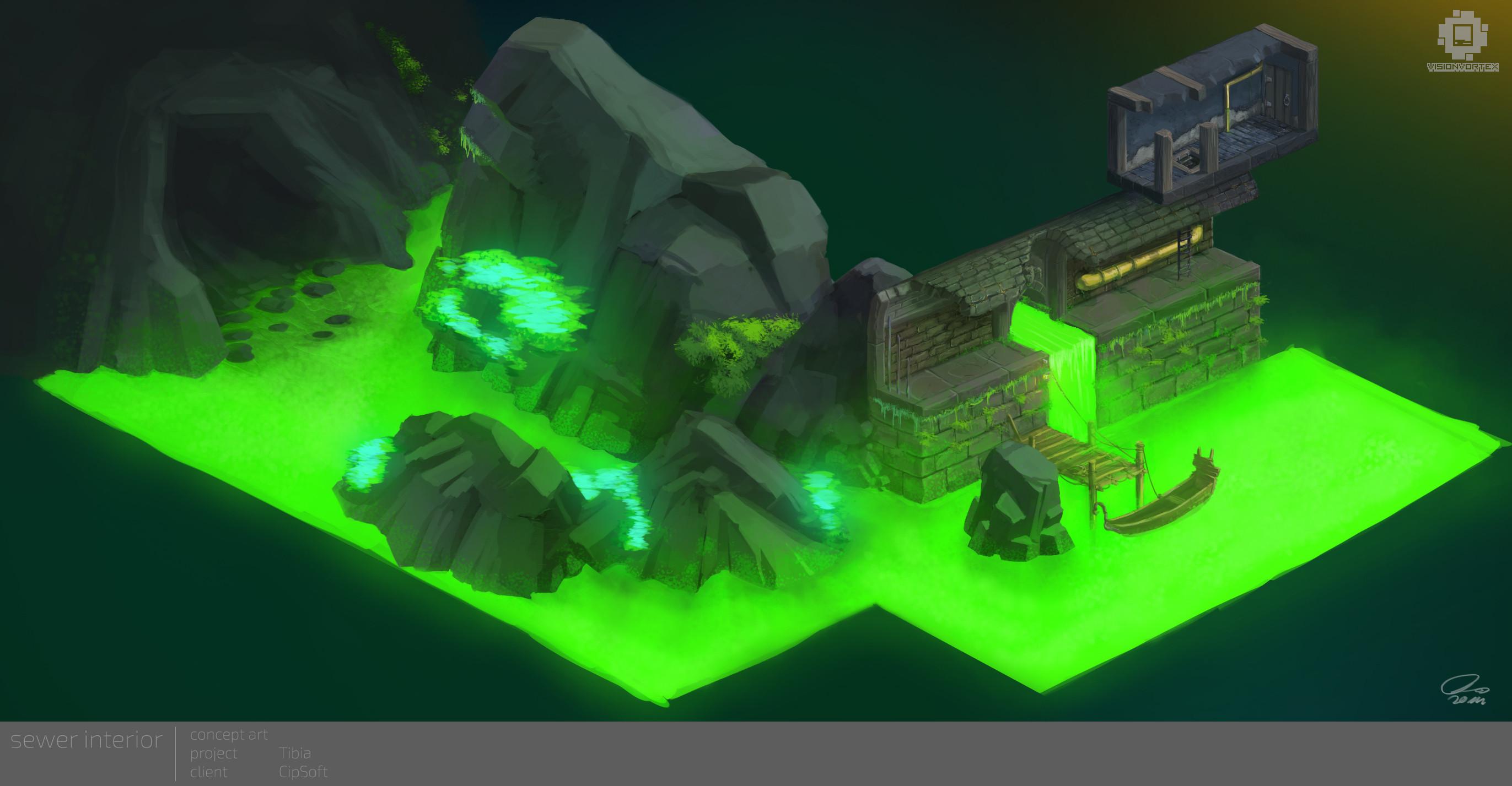Sewer Dungeon Interior Set
