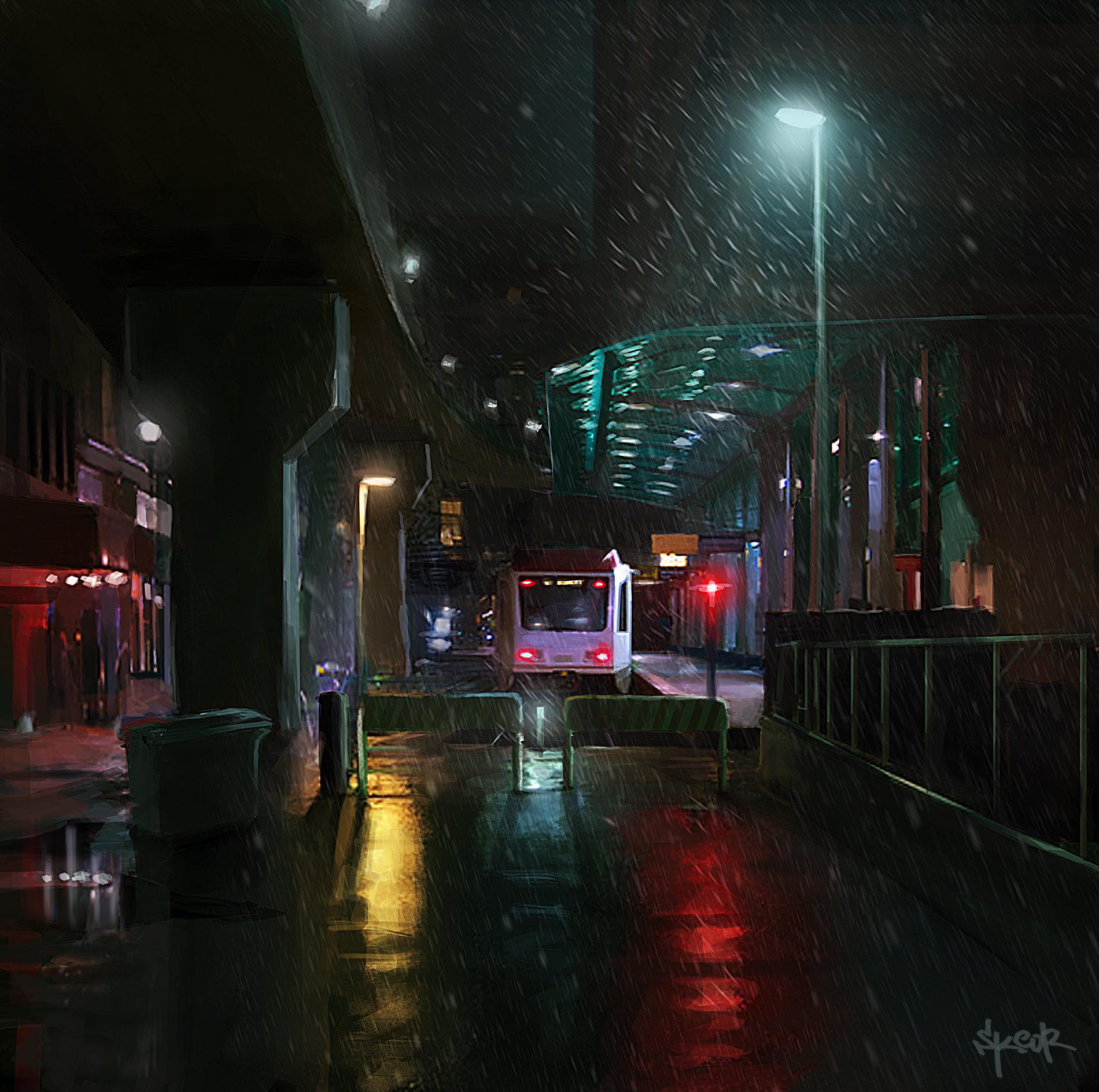 Anton skeor endstation tram