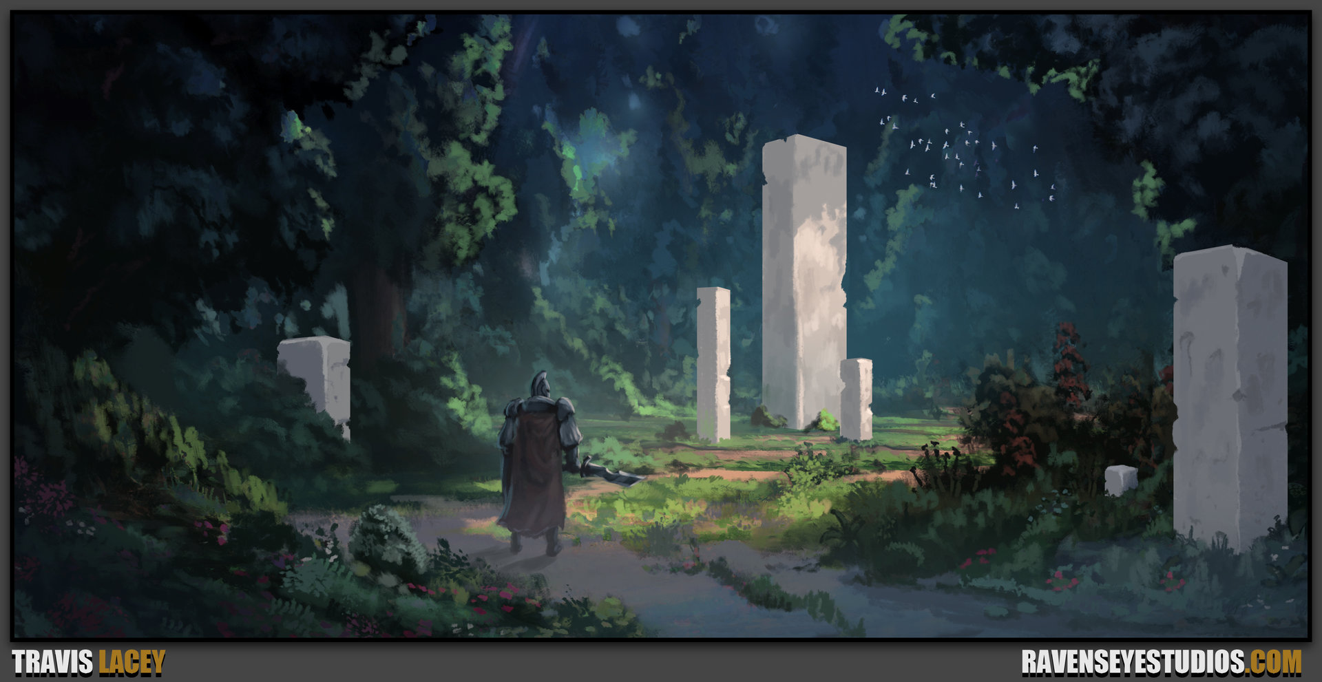Environment Fantasy Concept Art