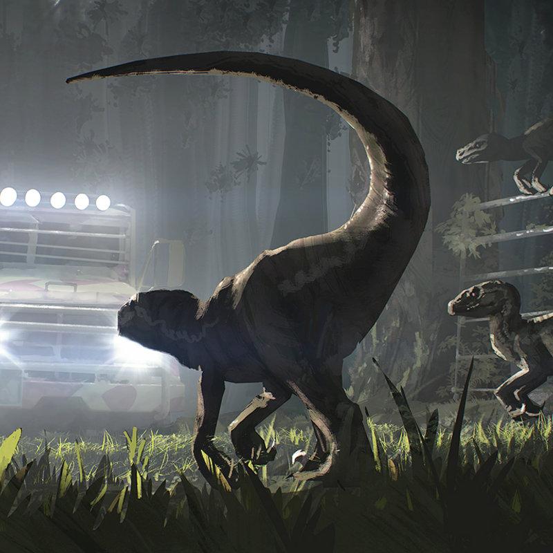 Raptors attack