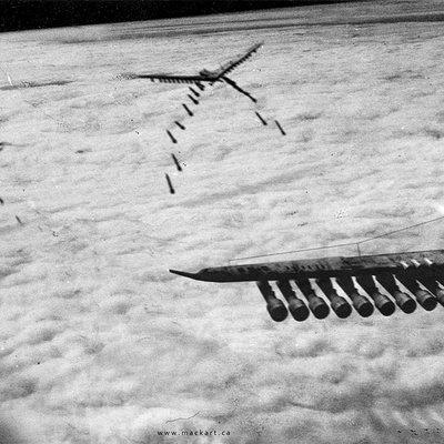 Mack sztaba grzmot bomber on mission