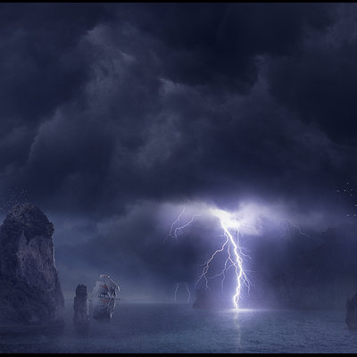 Ricardo guimaraes storm at devil s cove a