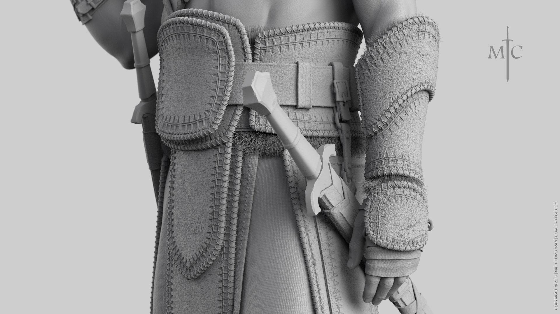 Matt corcoran mattcorcoran warrior grey 1k closeup 02