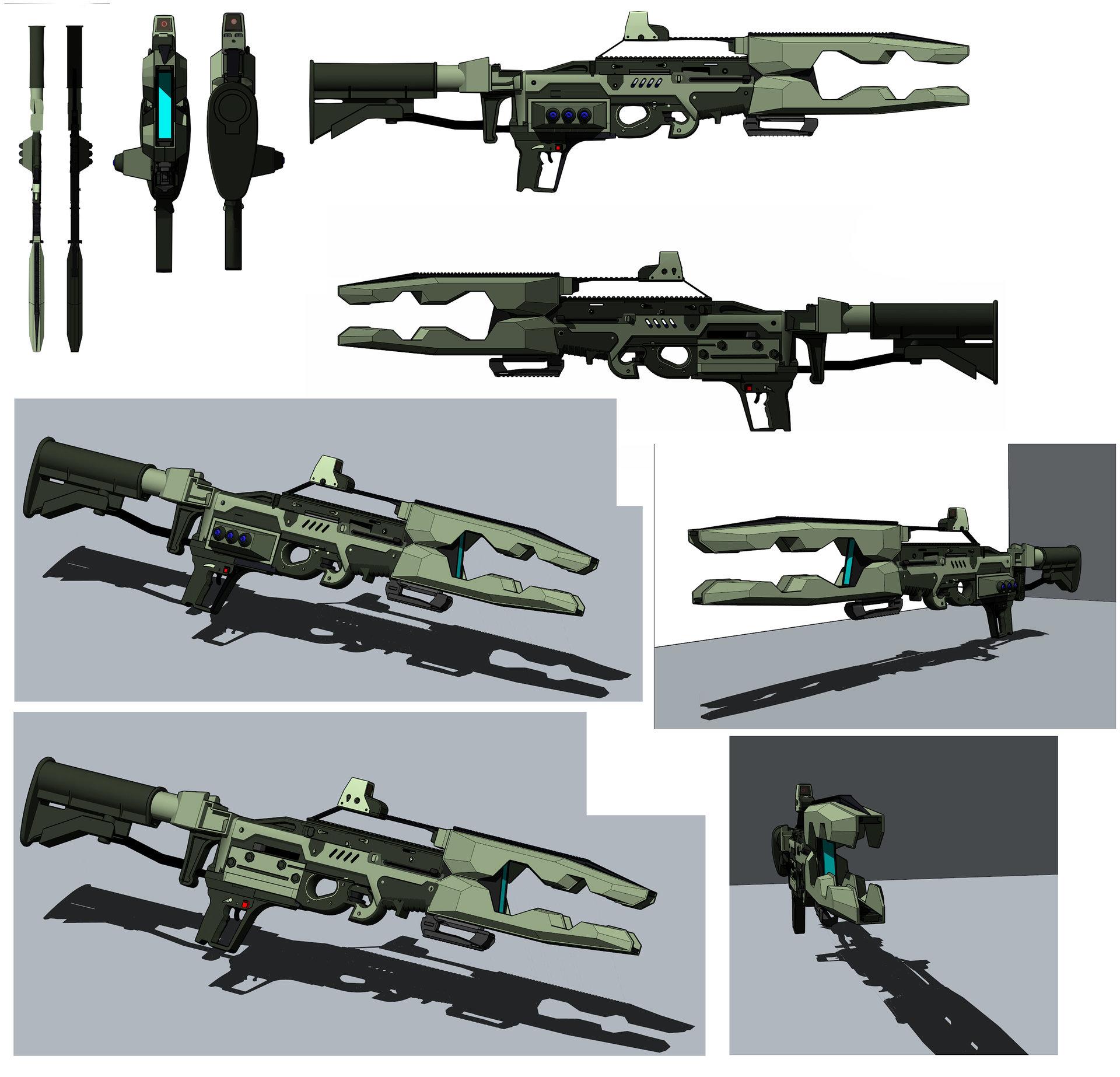 Cristian bruno railgun assault version