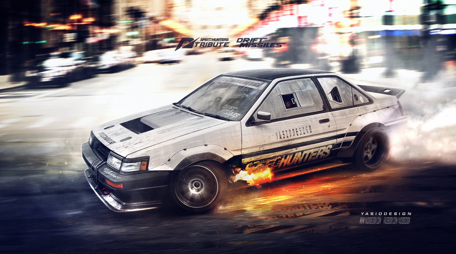 Speedhunters Need for speed tribute Ae86 coupe