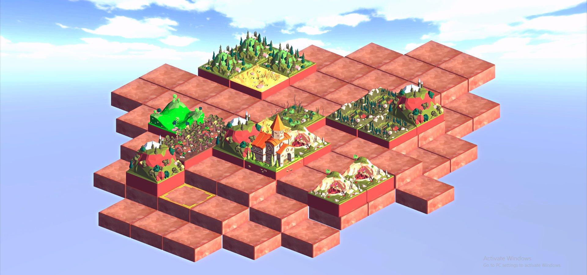 KRKA Park Game - Game Design Mock up
