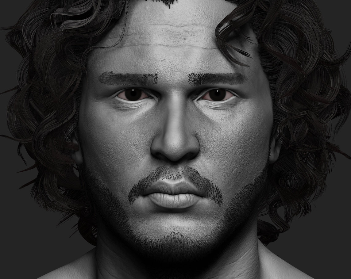 Jon Snow Likeness from Game of thrones!