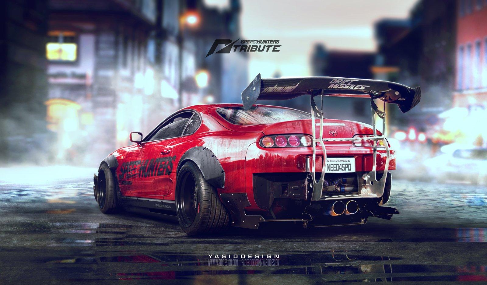 Speedhunters Toyota Supra - Need for speed tribute
