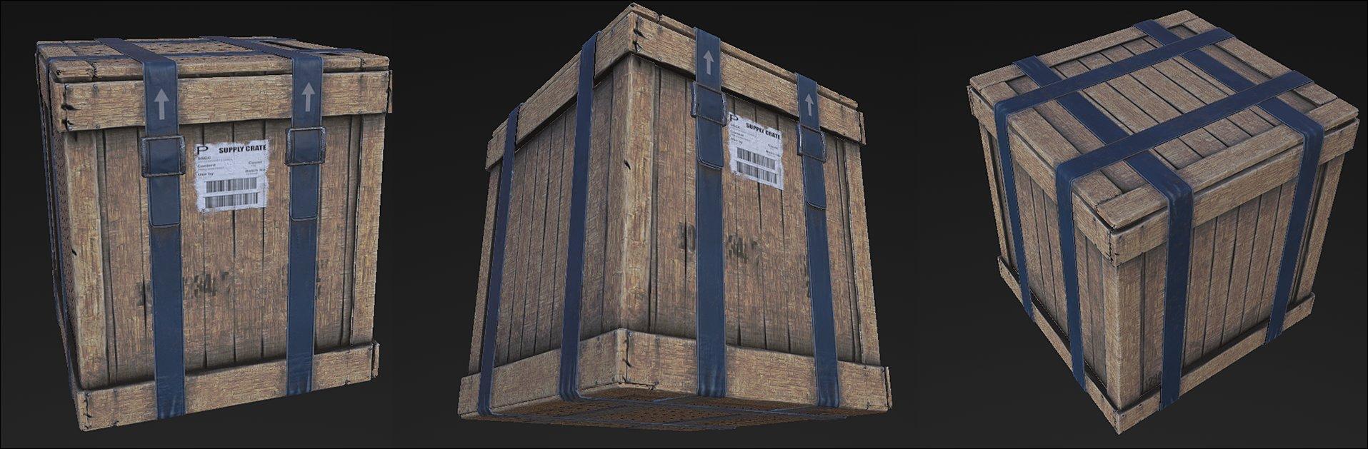 Daniel conroy crate 1 texture wip