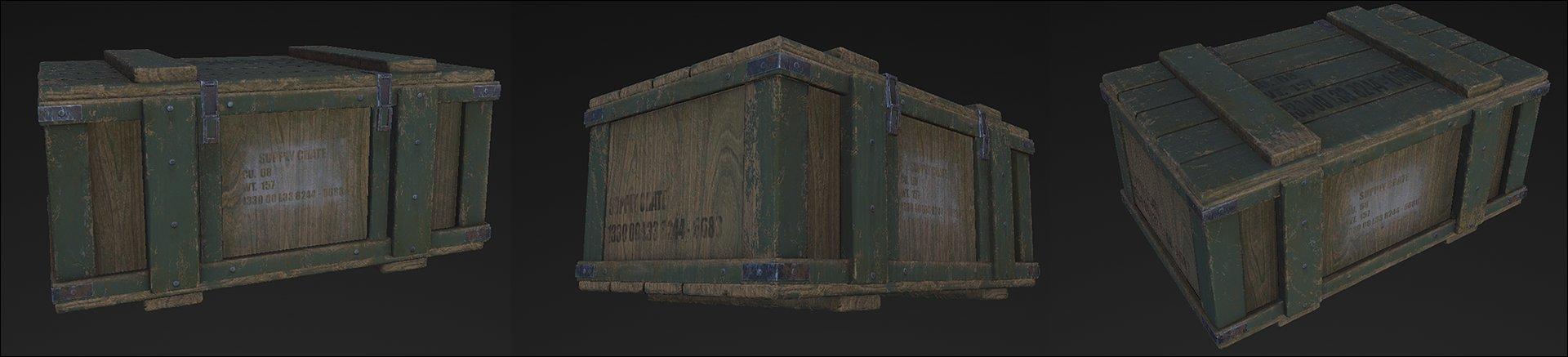 Daniel conroy crate 2 texture wip