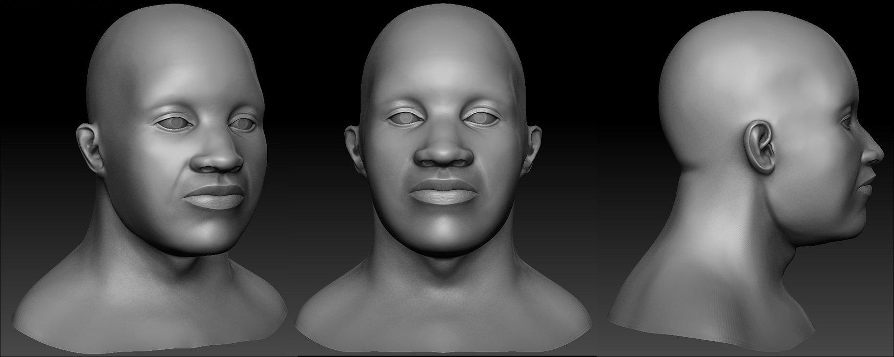 Daniel conroy face hp renders