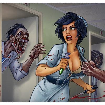 Renaud guyomard zombie hospital