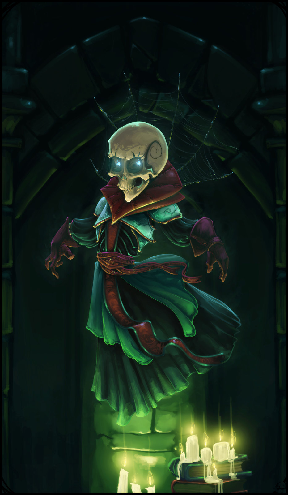 Gamine Squelette
