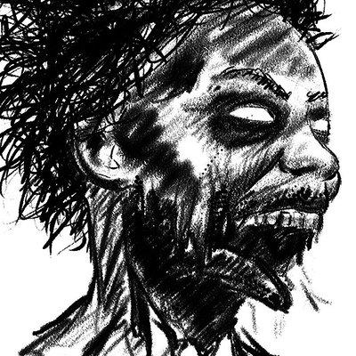 Clinton jones zombie girl