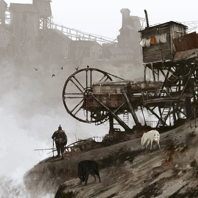 Jakub rozalski 1920 empty mine small