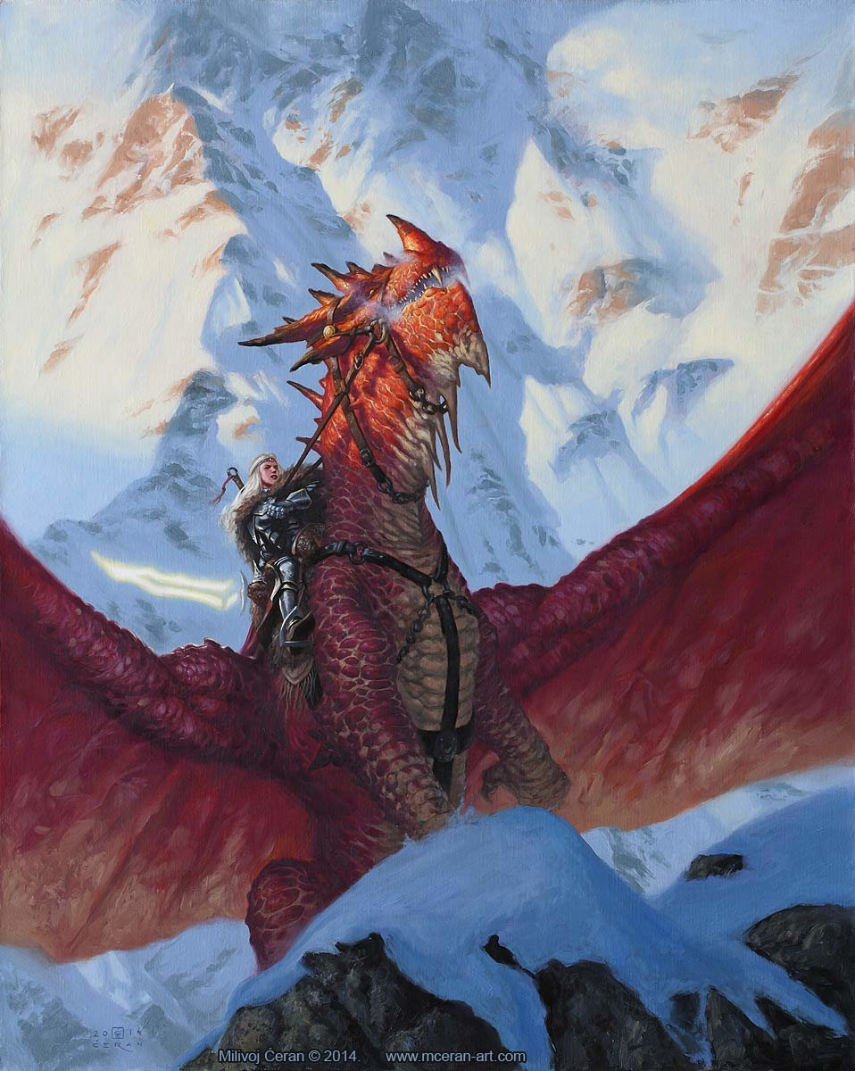 Dragon Rider, © Milivoj Ćeran 2014.