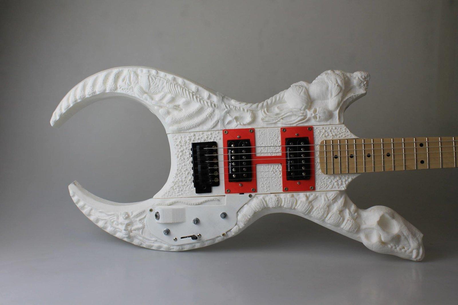 3D printed guitar concept