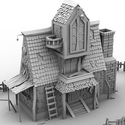 Angelo tsiflas hauntedhouse4k