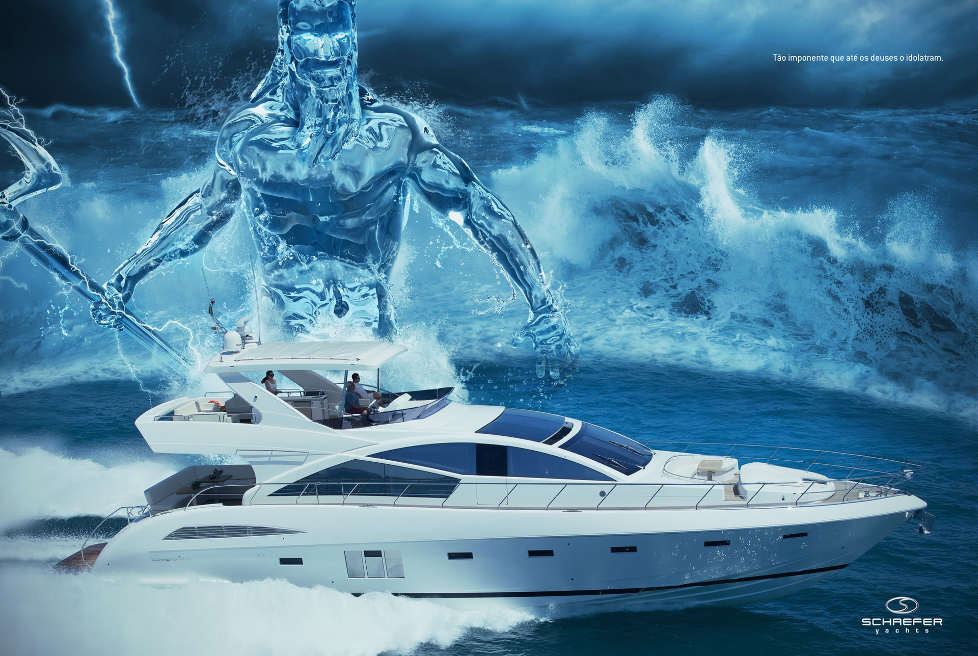 The Art - Advertising for a yachts company.