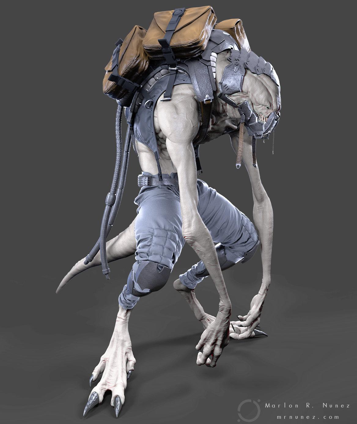 Creature 85-4 Sculpt