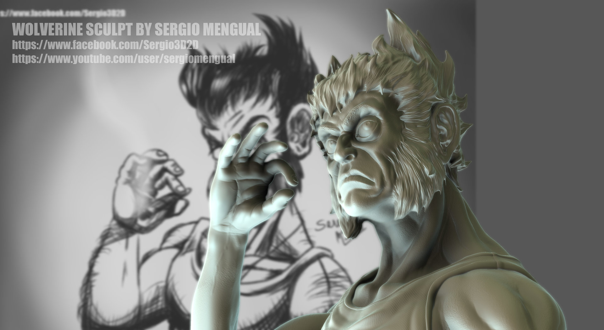 Sergio gabriel mengual wolverine pose test2 publish
