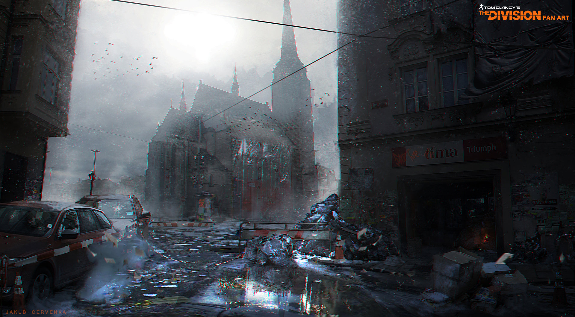 Book Review: The Art of Tom Clancy&#39-s The Division | Parka Blogs