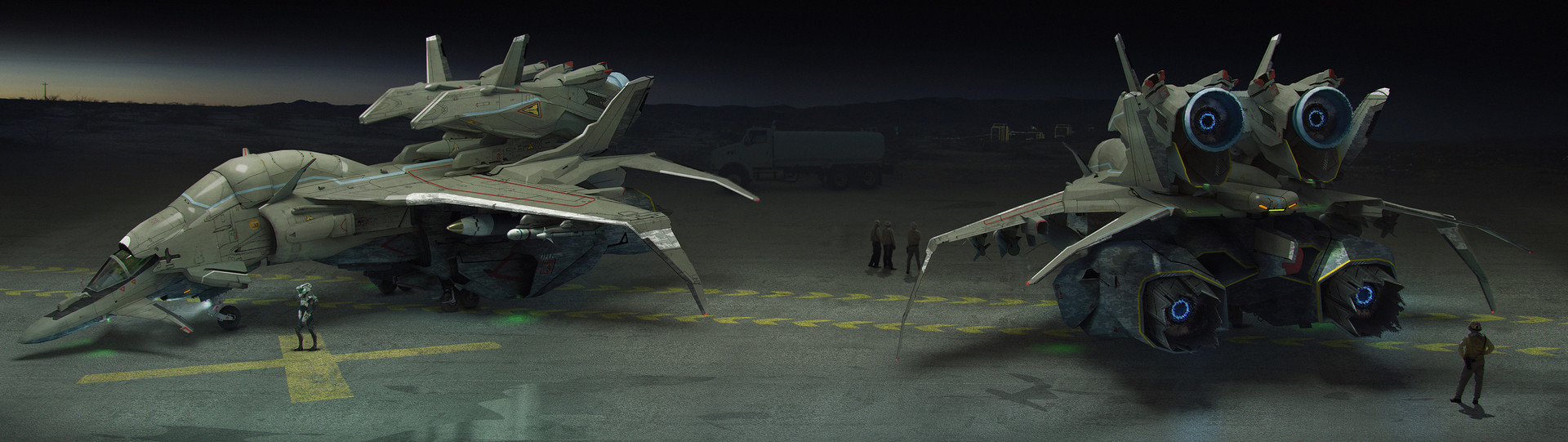 Brad wright jet fighter concept 01