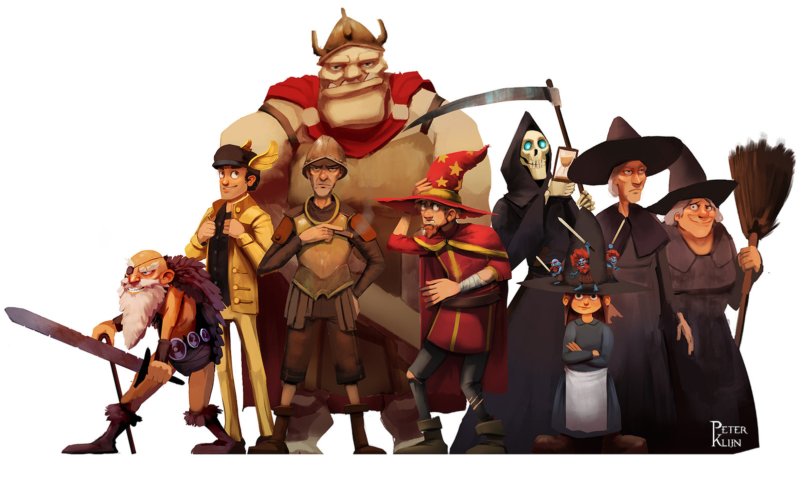 Discworld character collection