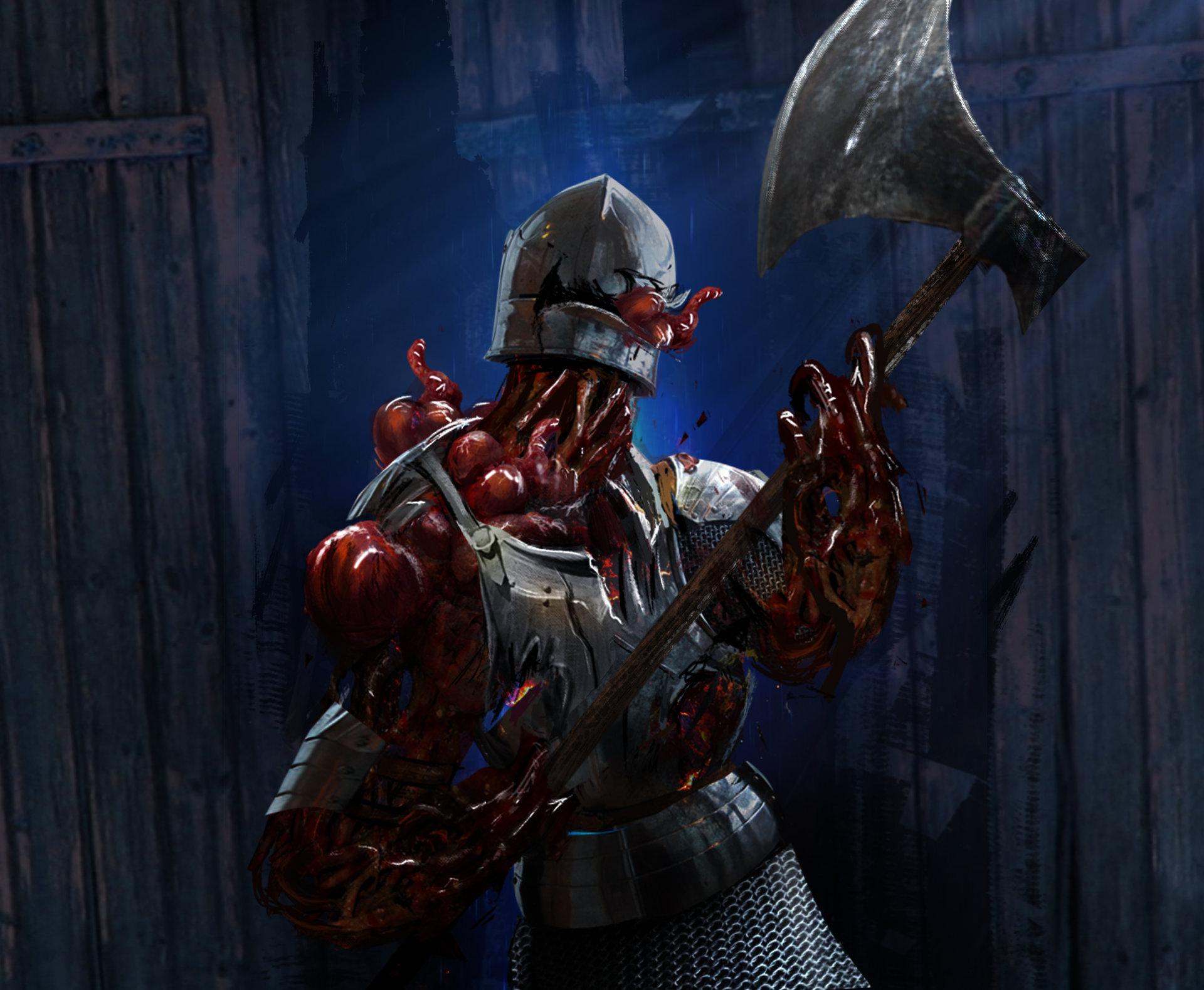 Daniel clasquin infected knight