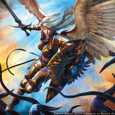 Antonis papantoniou war angels