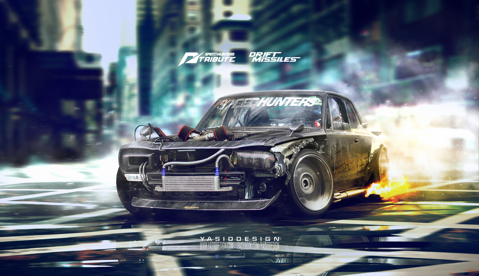 Speedhunters Nissan Skyline KGC10 2000 GT-R _ Need For Speed Tribute