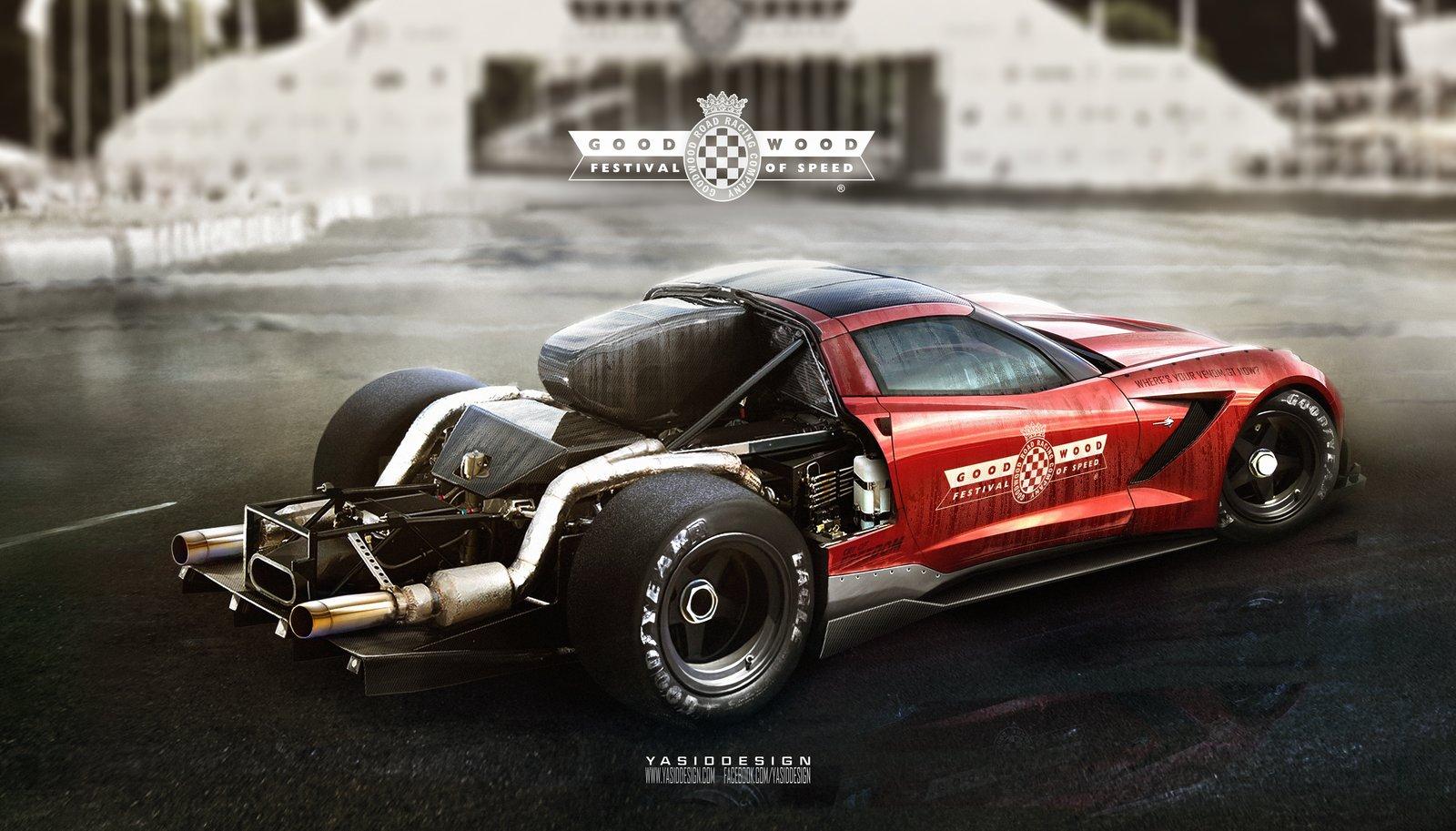 C7 corvette hillclimb - goodwood special