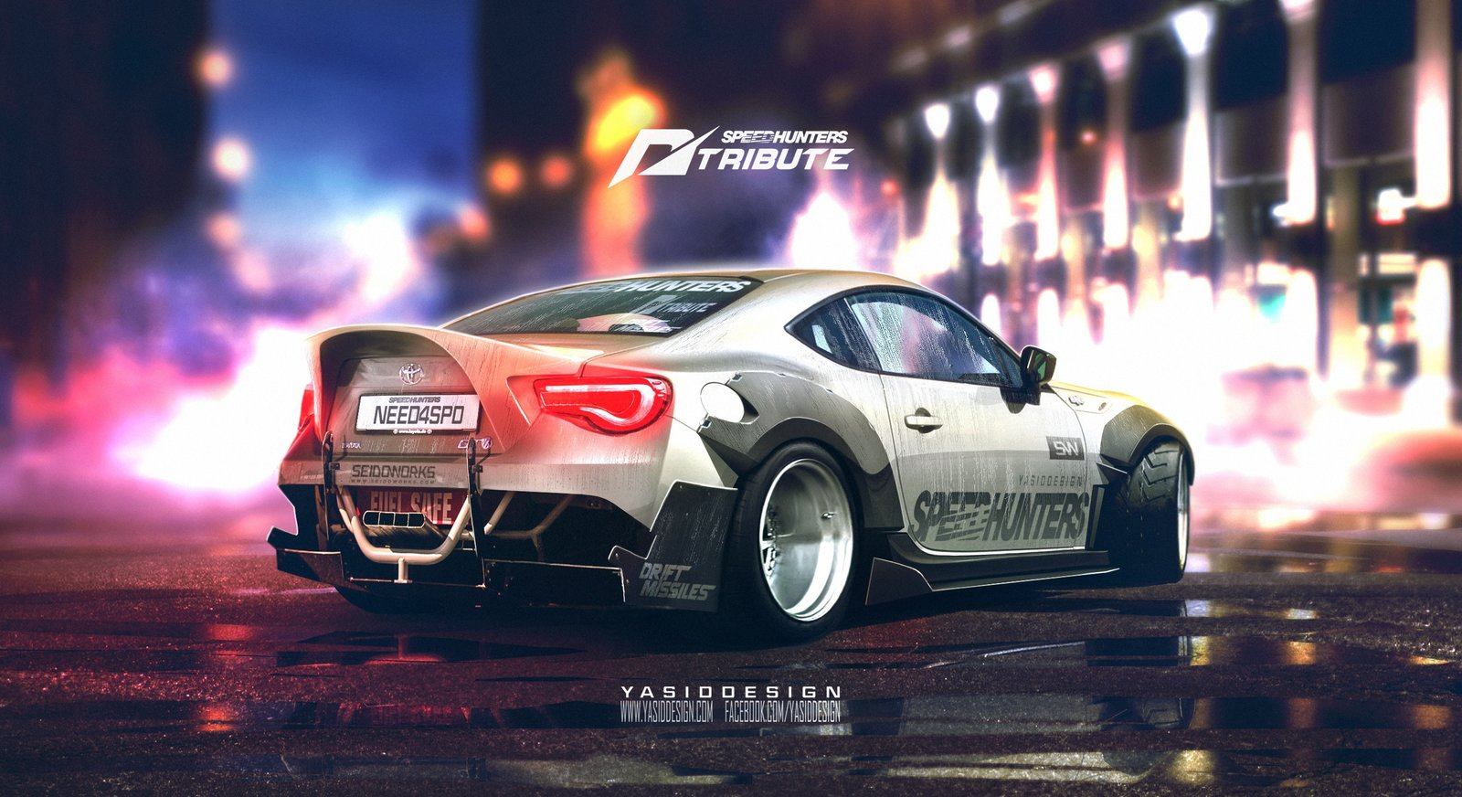 Speedhunters Toyota GT 86 _ Need for speed tribute featuring Seidoworks