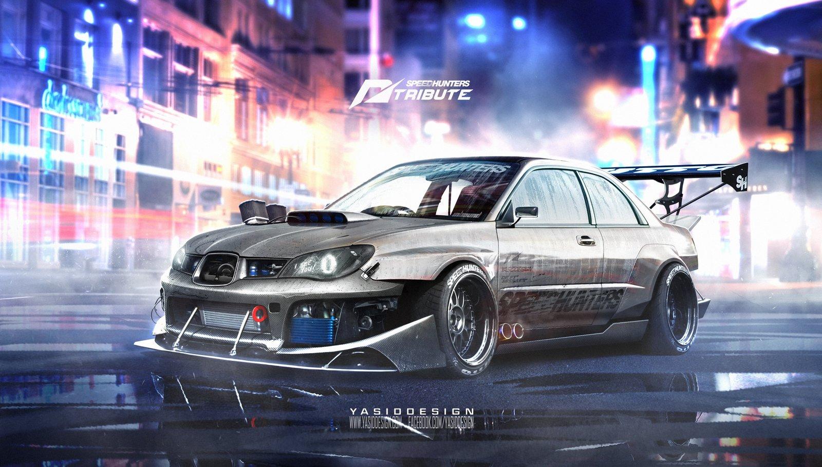 Speedhunters Subaru Impreza STI _ Need for speed Tribute