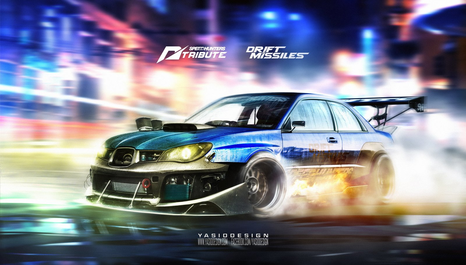 Speedhunters Subaru Impreza STI _ Need for speed Tribute _ Drift missile
