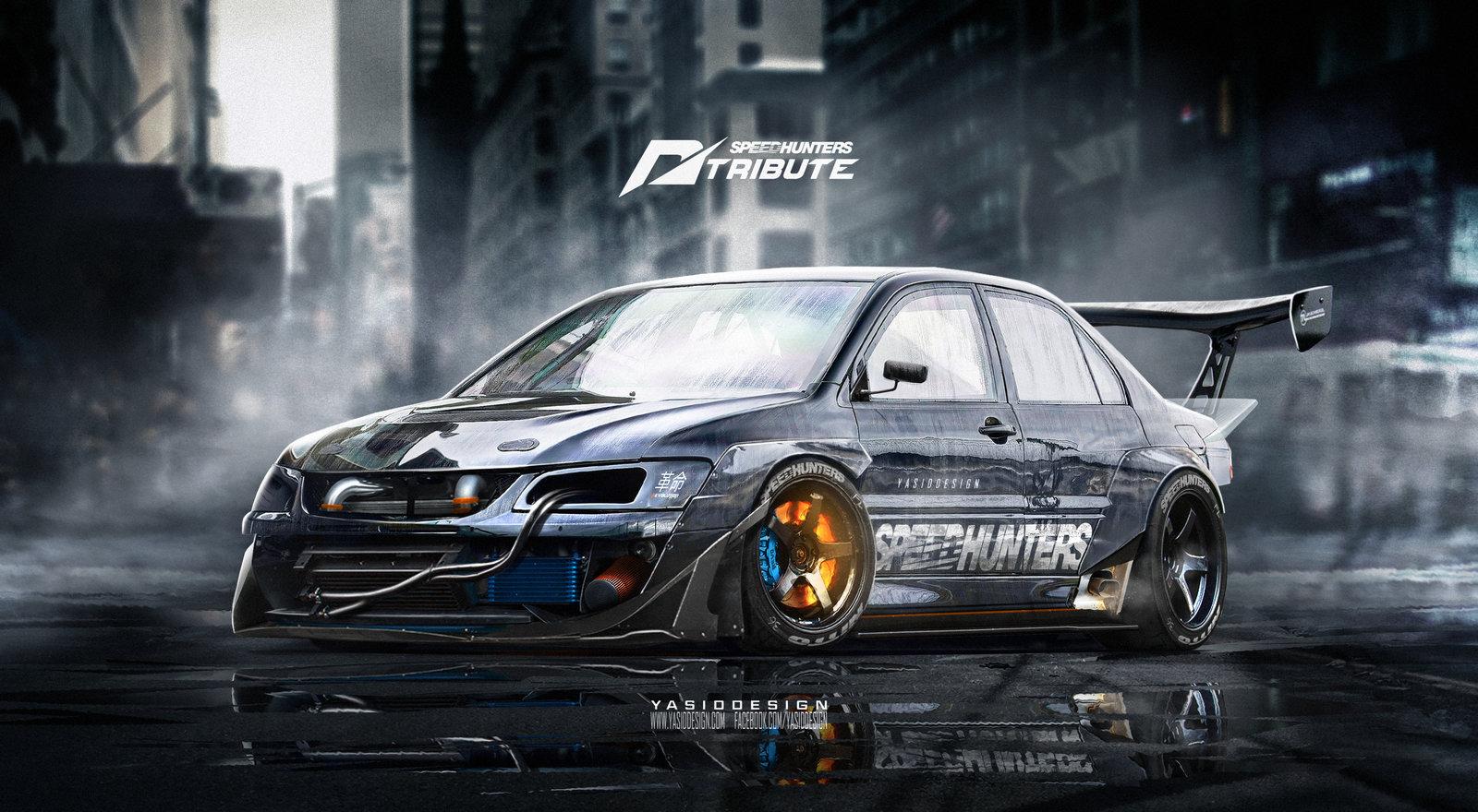 Speedhunters Mitsubishi Lancer EVO 9 _ Need for speed tribute