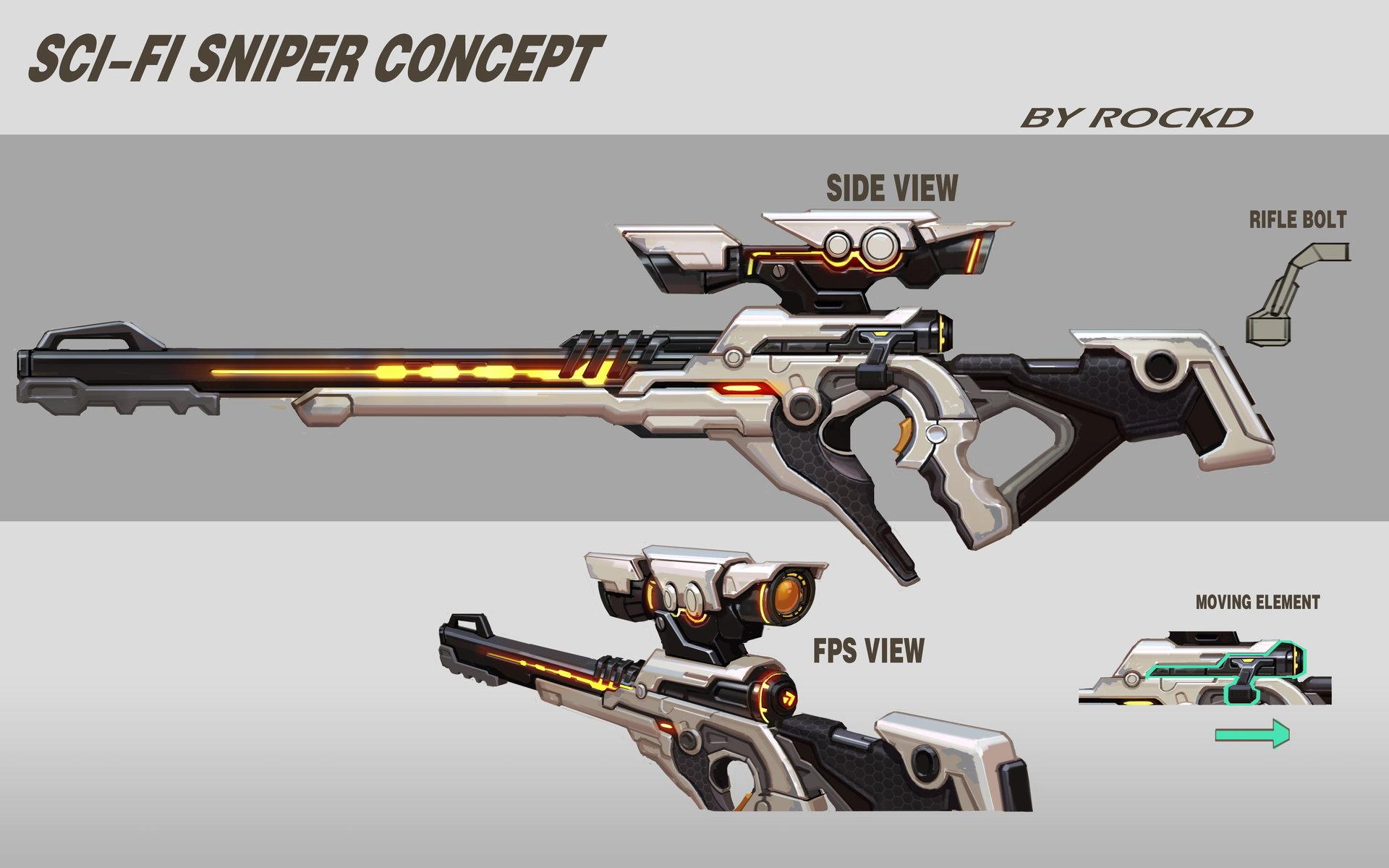 Rock d scifi sniper