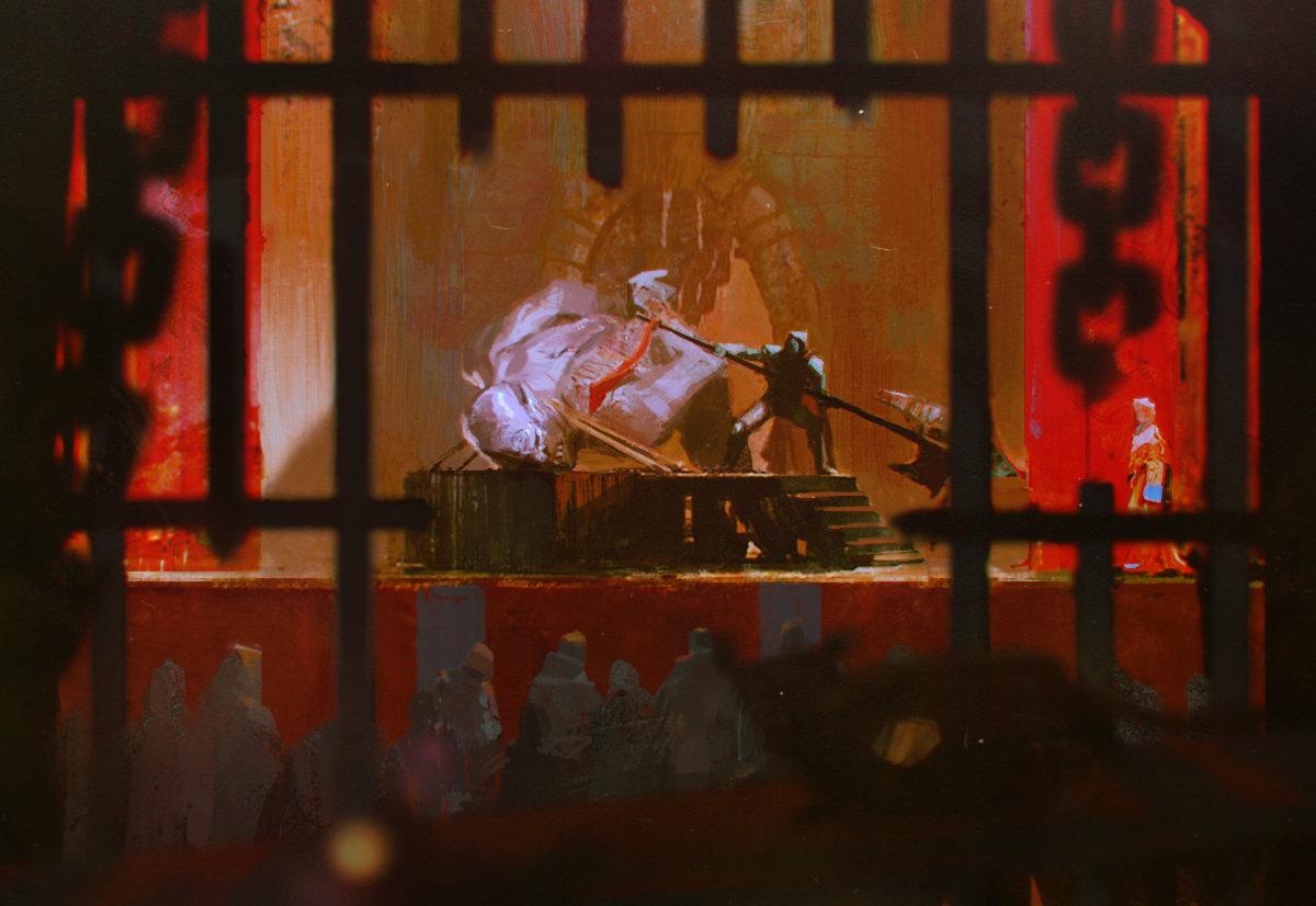 Alexander mandradjiev ogre curse story 1
