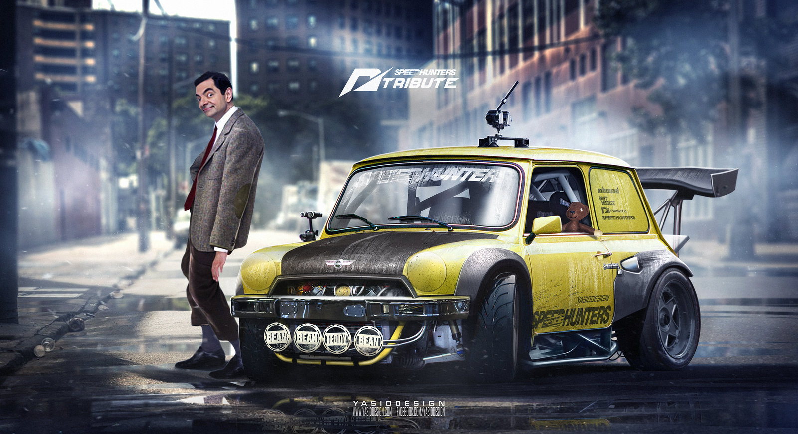 Speedhunters Mini cooper Need For Speed Tribute featuring Mr Bean