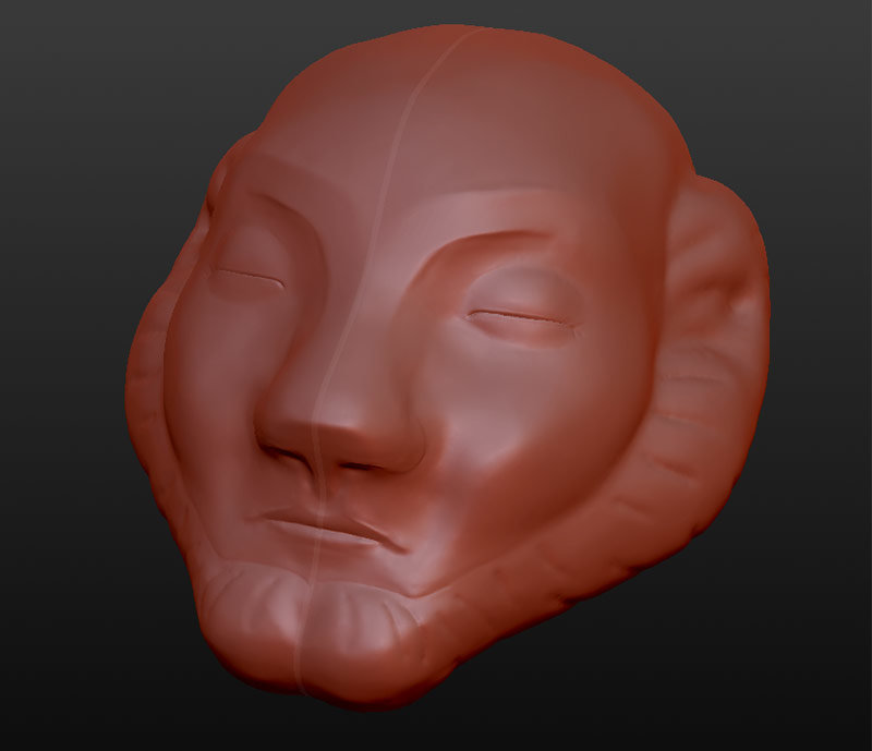 Icon carving model
