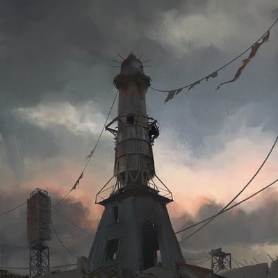 Rostislav zagornov lighthouse