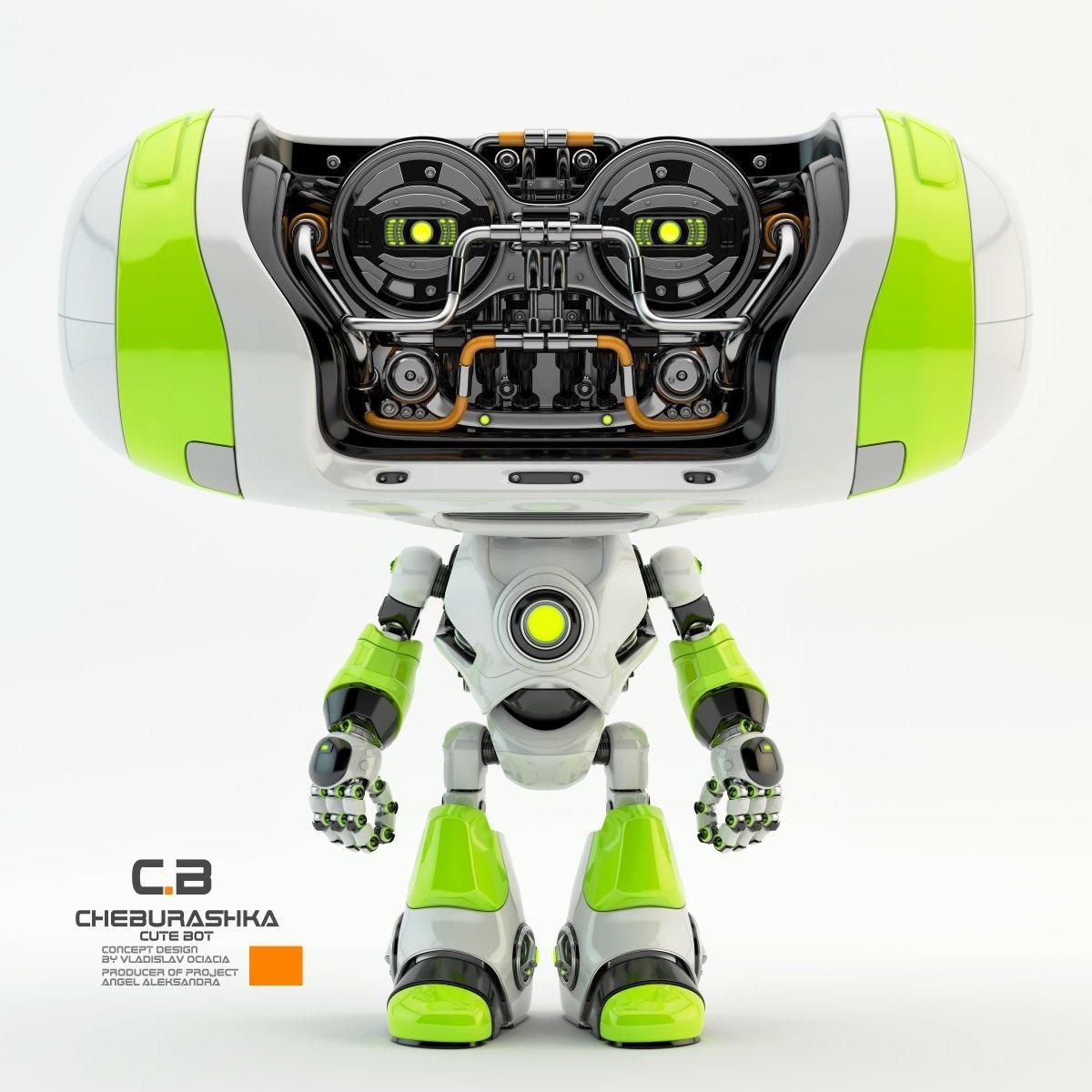 Vladislav ociacia cheburashka robot 5
