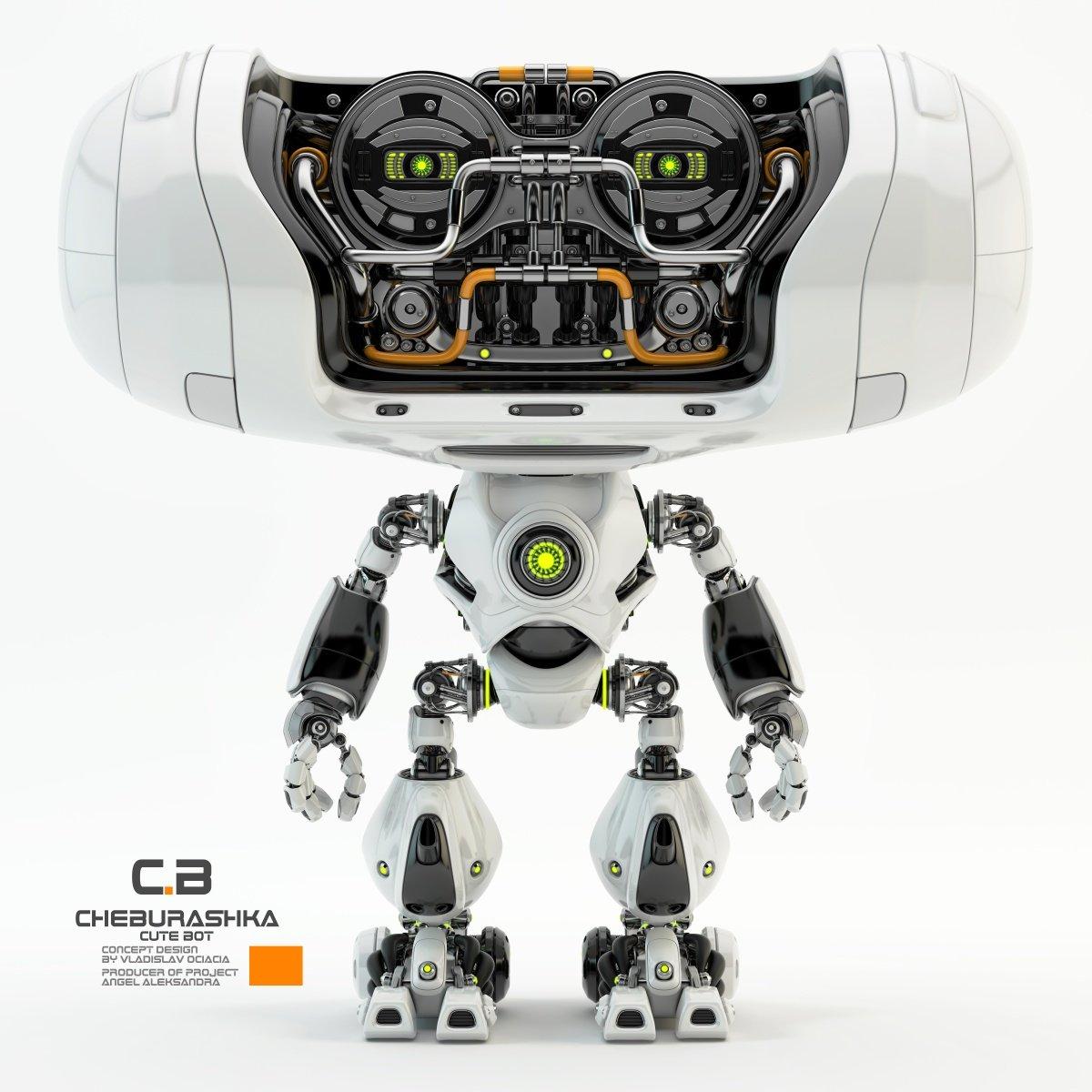 Vladislav ociacia cheburashka robot 1