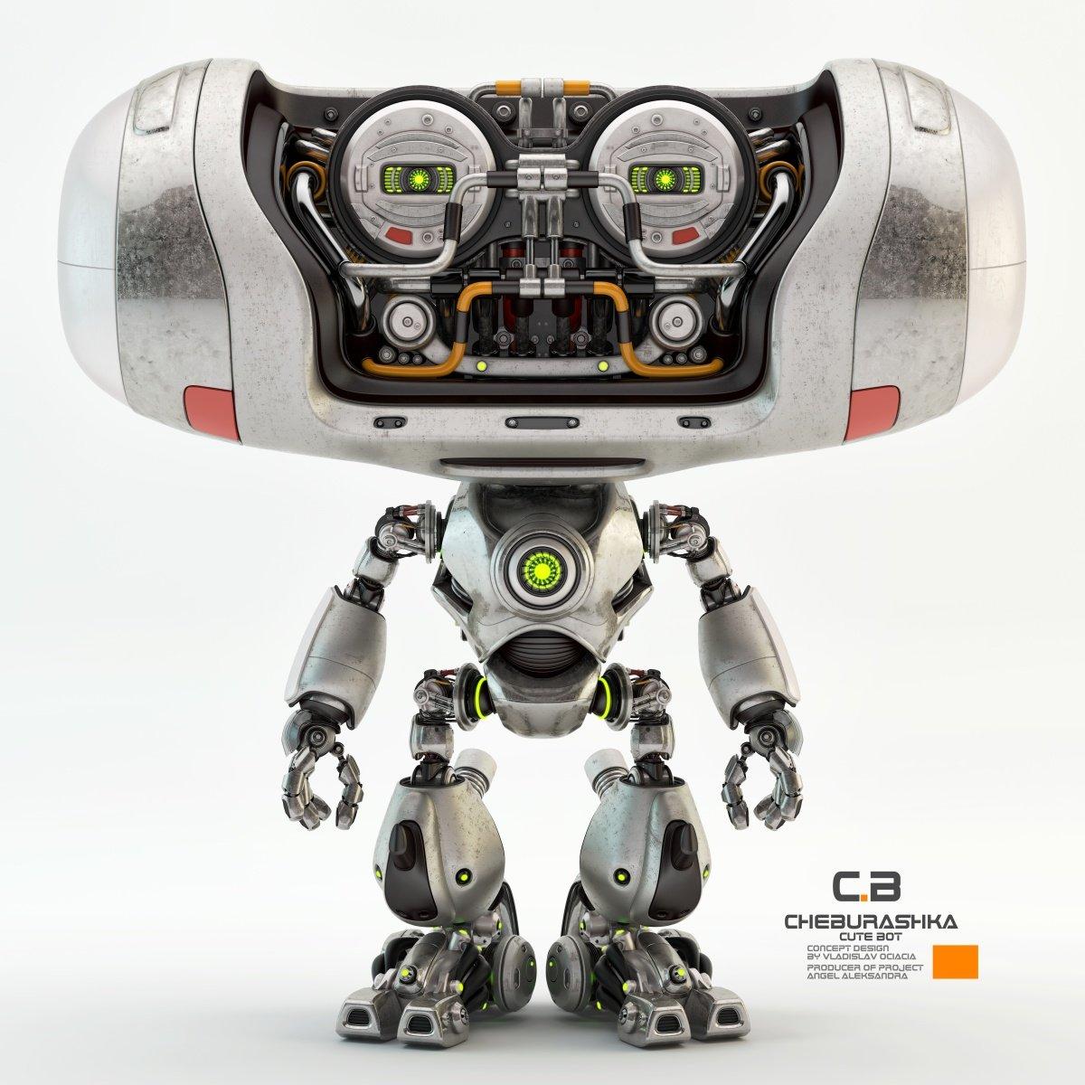 Vladislav ociacia cheburashka robot 3