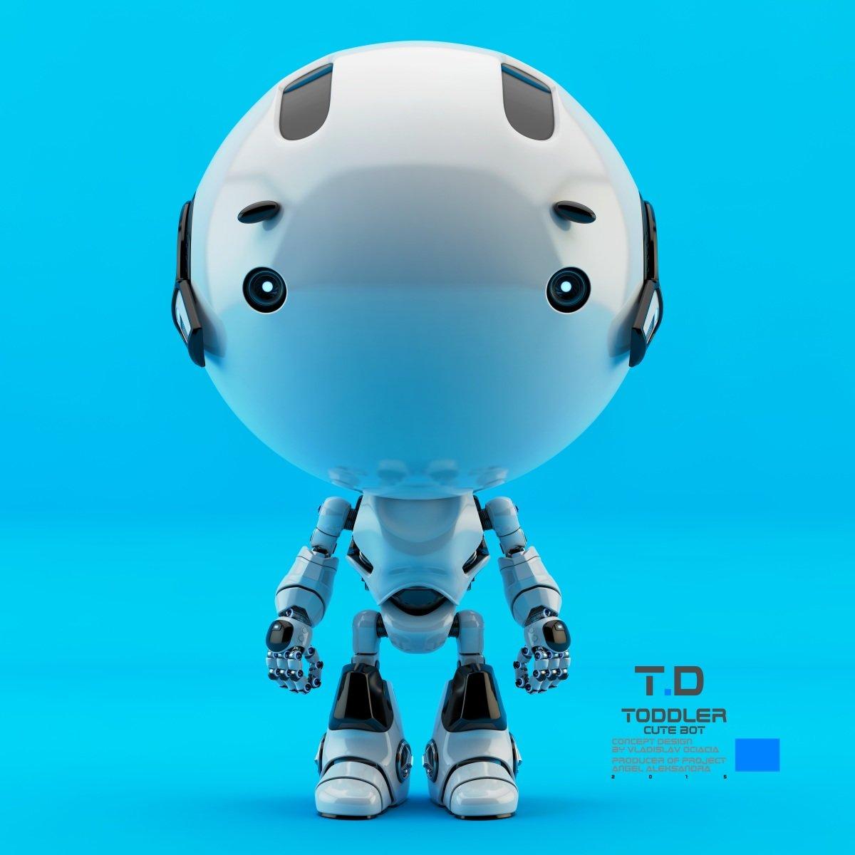 Vladislav ociacia toddler robot 1