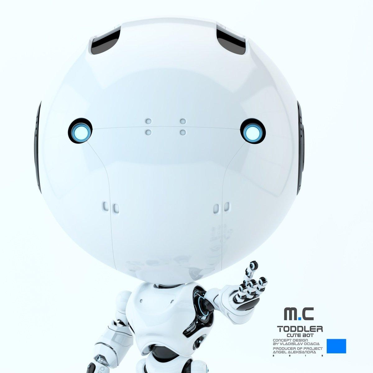 Vladislav ociacia toddler robot 8