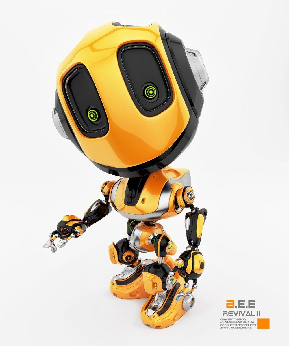 Vladislav ociacia bee robot revival 7
