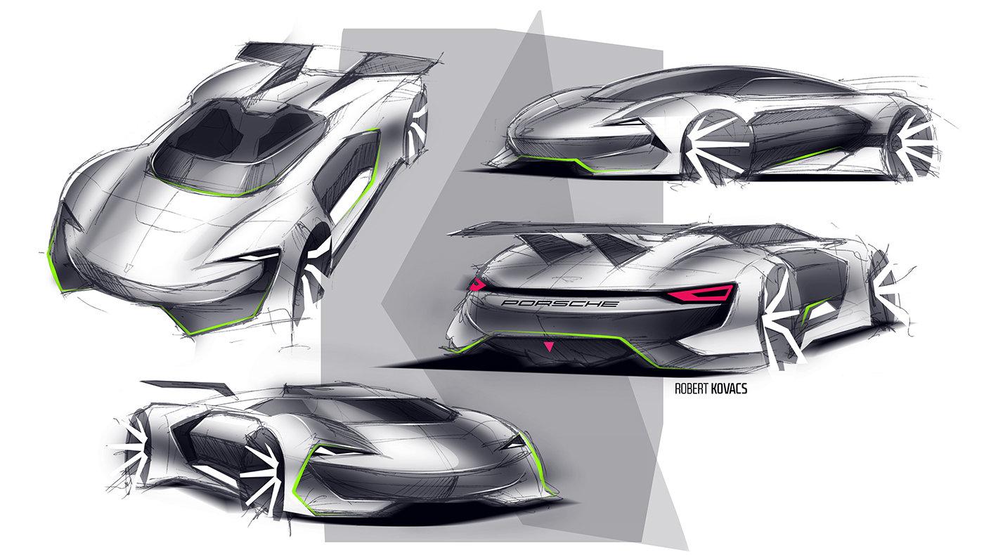 ArtStation - Porsche GT, Robert Kovacs on vision mazda gt, vision ford gt, vision toyota gt, vision nissan gt,